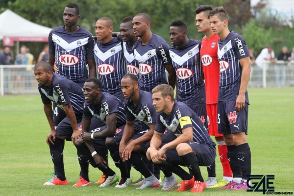 Groupe Effectif Equipe Onze Photo Angers Girondins