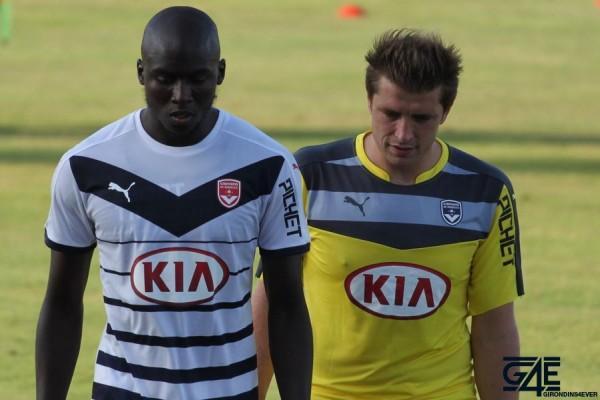 Cédric Carrasso et Cédric Yambéré