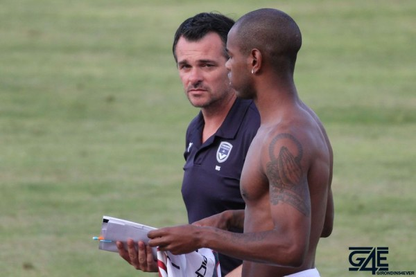 Diego Rolan et Willy Sagnol