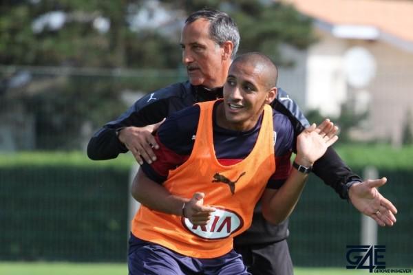 Sylvain Matrisciano et Wahbi Khazri