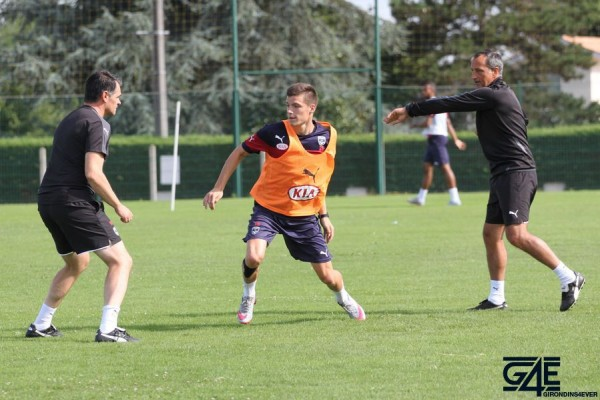 Sylvain Matrisciano, Willy Sagnol et Thomas Touré
