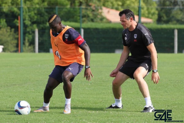 Willy Sagnol et Henri Saivet