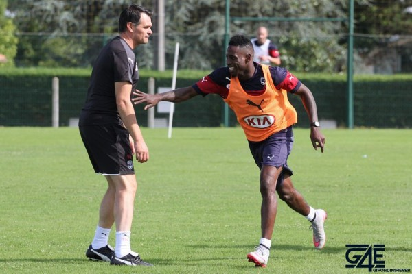 Willy Sagnol et André Poko