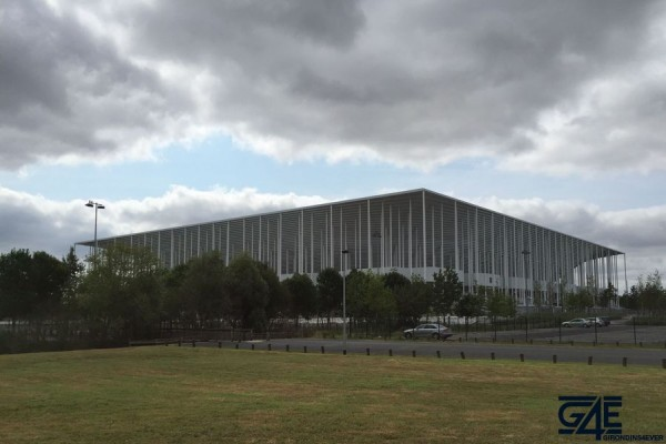 Nouveau Stade vu du vélodrome