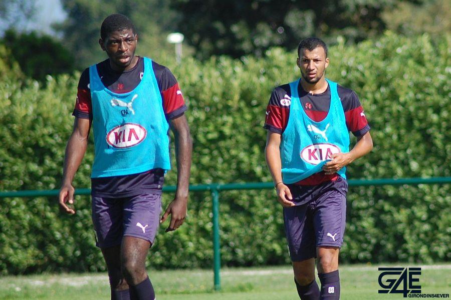 Hassani Elias et Albert Mmakoube