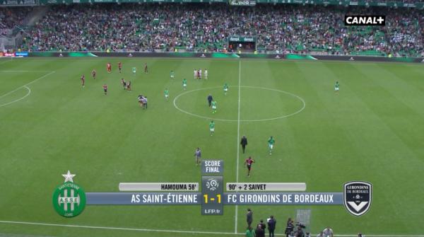 Fin de match saint-etienne