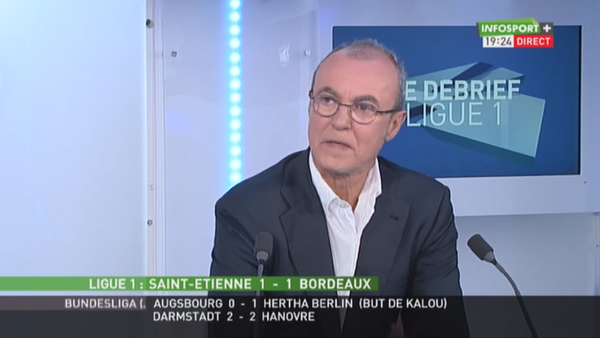 Vincent Machenaud en direct d'Infosport.