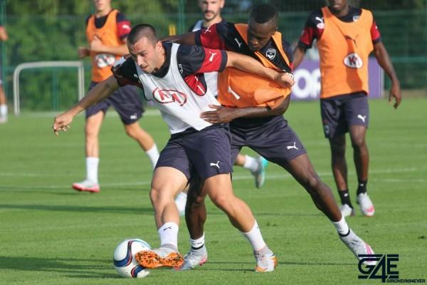 Milan Gajic et Maxime Poundjé