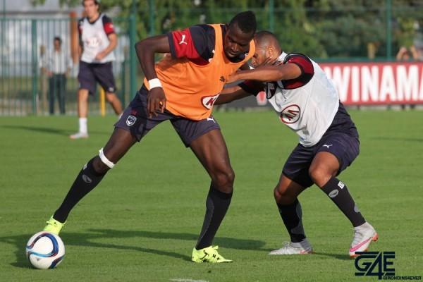 Cheick Diabaté et Thomas Touré