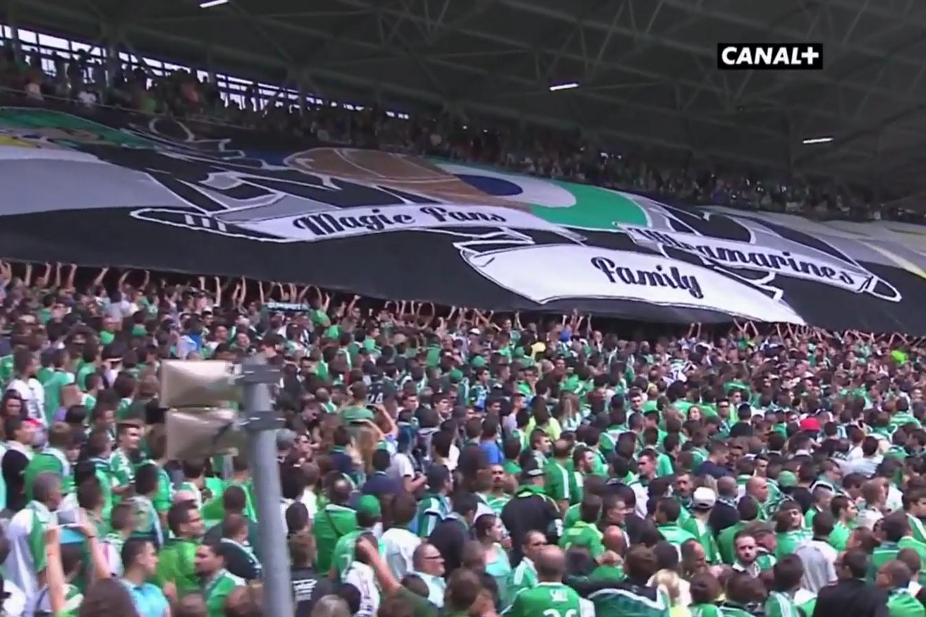 Tifo Saint-Etienne Bordeaux 2015-2016 (2)