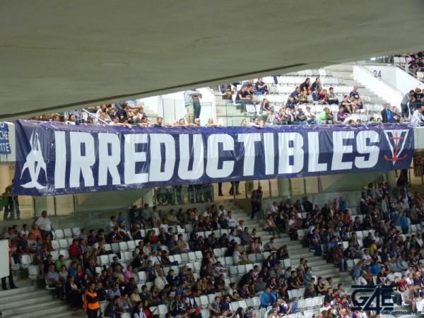 Irréductibles Ultras Virage Sud Nouveau Stade Tifo