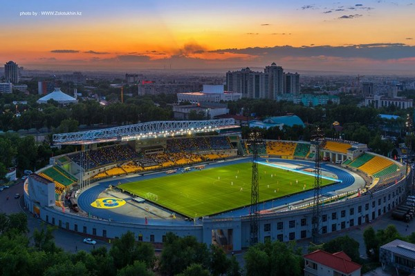 Stade central, Almaty