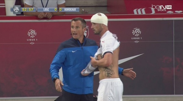 Nicolas Pallois blessure Lille