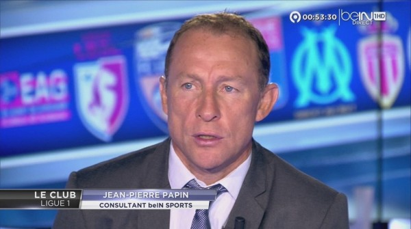 Papin en direct sur BeIn Sports.