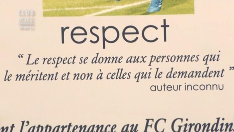 Respect valeurs