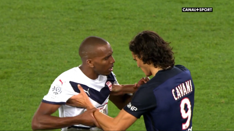 J+1 PSG Bordeaux Maurice-Belay Cavani