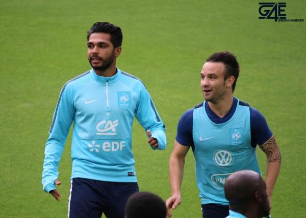 Mathieu Valbuena et Benoit Trémoulinas