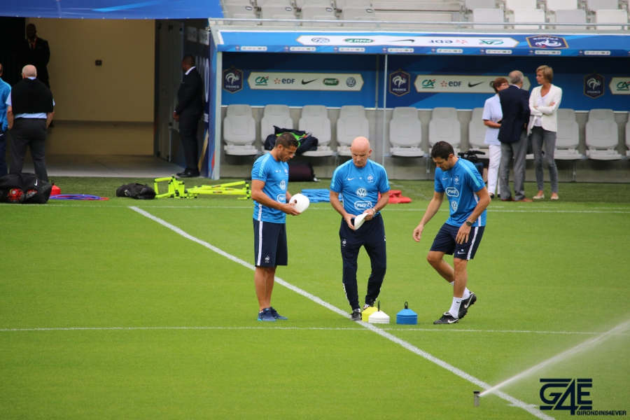 Guy Stéphan staff Equipe de France