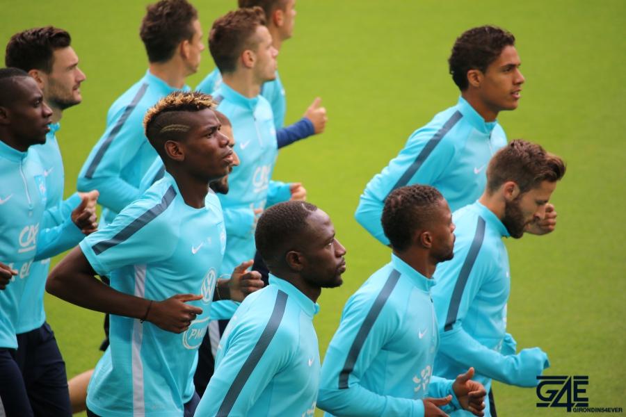 Equipe de France Matmut Atlantique Pogba