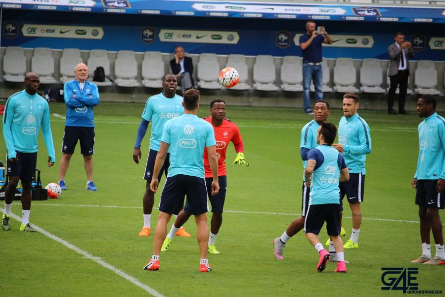 Equipe de France Matmut Atlantique Mandanda