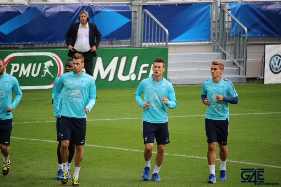 Equipe de France Matmut Atlantique Griezmann Koscielny Schneiderlin