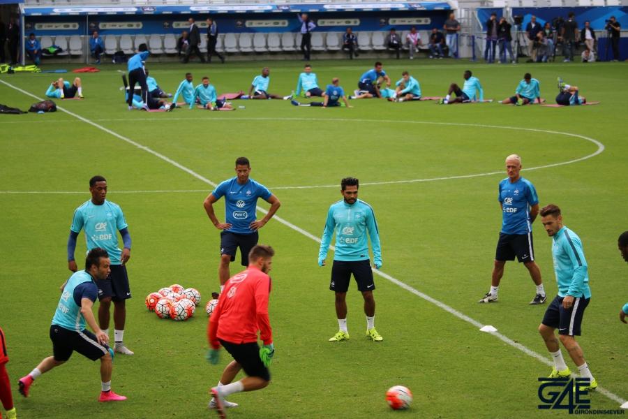 Equipe de France Matmut Atlantique