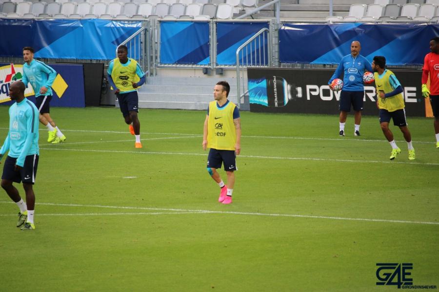 Equipe de France Matmut Atlantique Valbuena