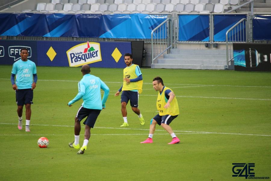 Equipe de France Matmut Atlantique Trémoulinas Valbuena