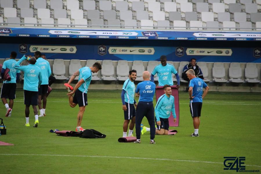 Equipe de France Matmut Atlantique Trémoulinas