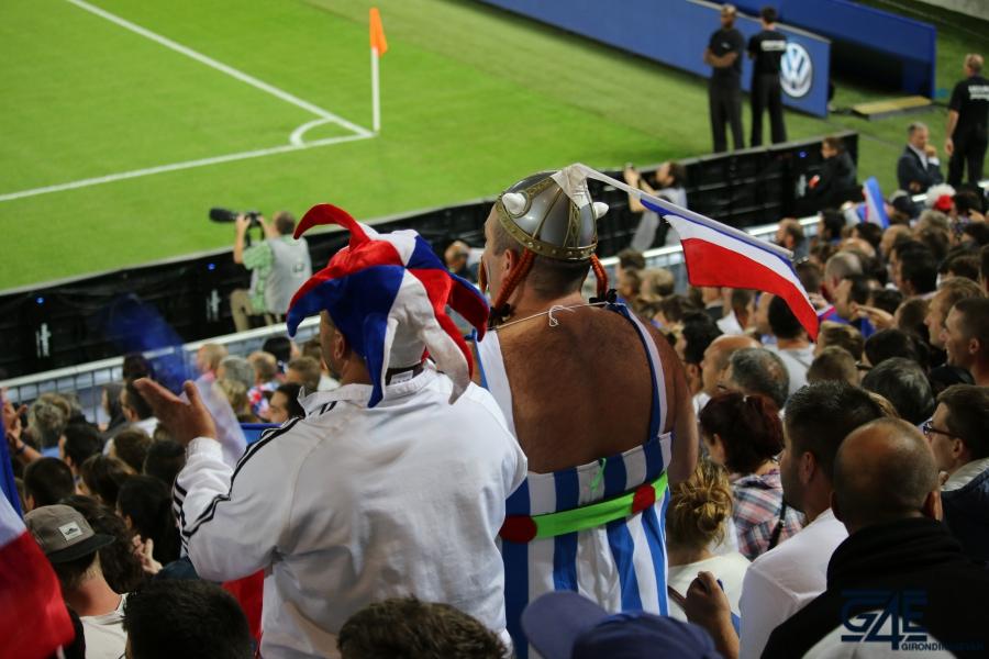Equipe de France Stade Matmut Atlantique Obelix