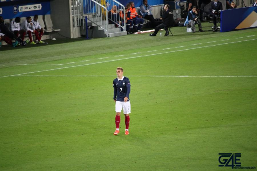 Equipe de France Antoine Griezmann