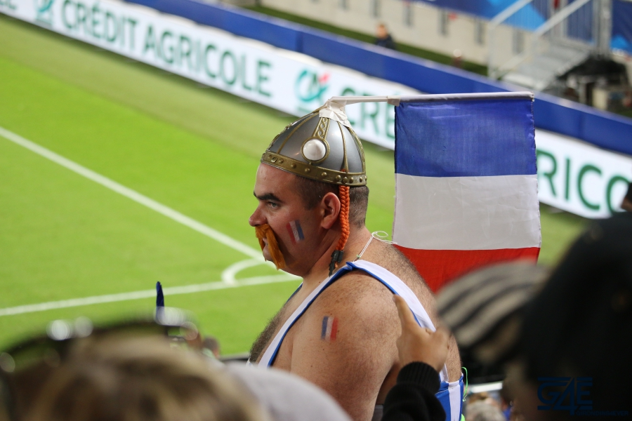 Equipe de France Stade Matmut Atlantique Obélix