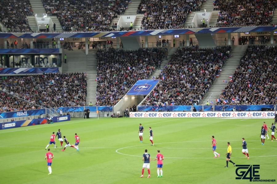 Equipe de France Stade Matmut Atlantique