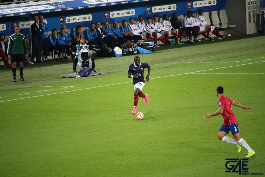 Equipe de France Bacary Sagna