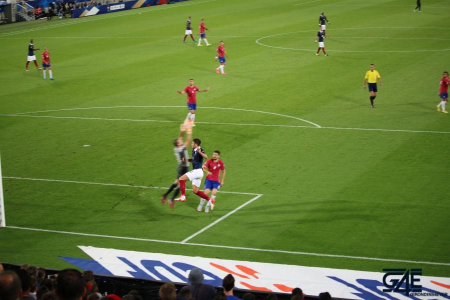 Equipe de France Stade Matmut Atlantique Olivier Giroud