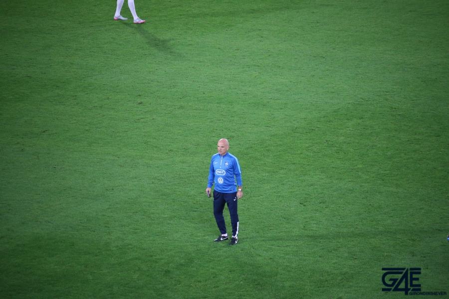 Equipe de France Stade Matmut Atlantique Guy Stephan