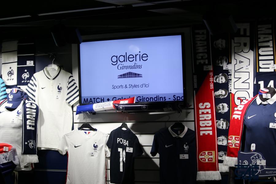 Equipe de France Stade Matmut Atlantique boutique