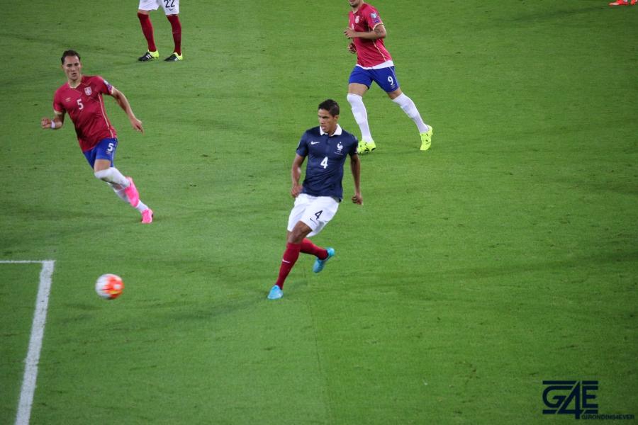 Equipe de France Raphaël Varane