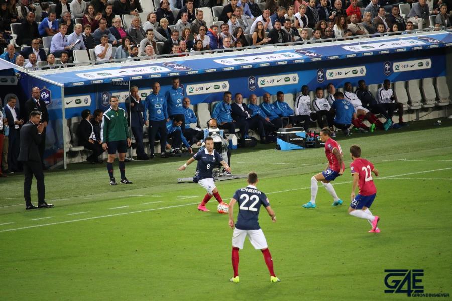 Equipe de France Mathieu Valbuena