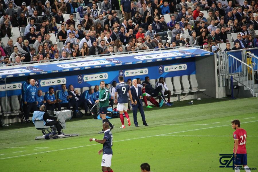 Equipe de France Giroud