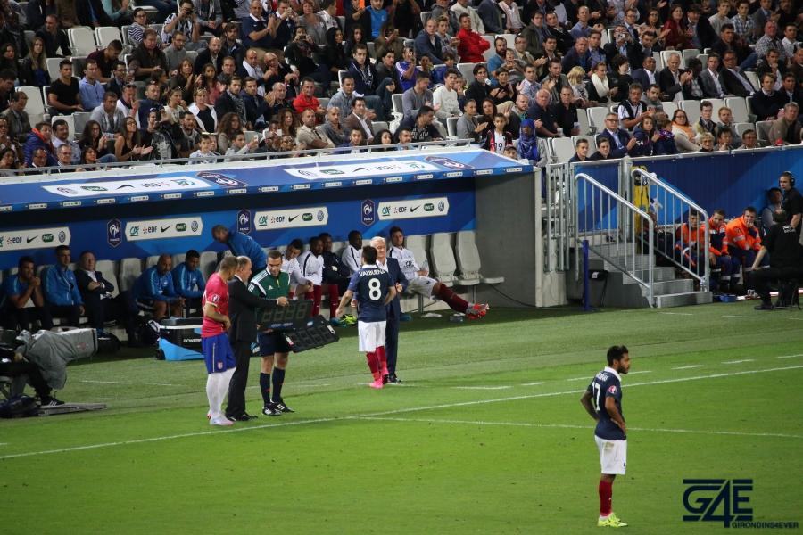 Equipe de France Valbuena Deschamps