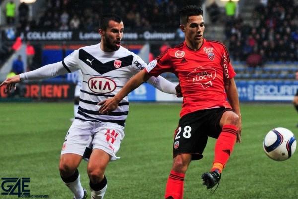 Maxime Barthelme - 04.10.2015 - Lorient / Bordeaux - 9eme journee de Ligue 1 Photo : Philippe Le Brech / Icon Sport