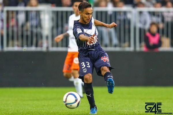 Adam Ounas -  18.10.2015 - Bordeaux / Montpellier - 10eme journee de Ligue1 Photo : Manuel Blondeau / Icon Sport *** Local Caption ***