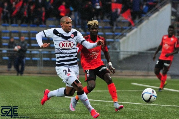 Wahbi Khazri - 04.10.2015 - Lorient / Bordeaux - 9eme journee de Ligue 1 Photo : Philippe Le Brech / Icon Sport
