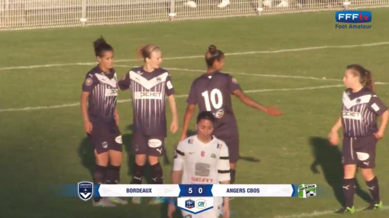 Féminines J7 Angers 5-0