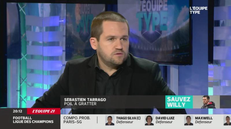 L'Equipe 21 Sébastien Tarrago