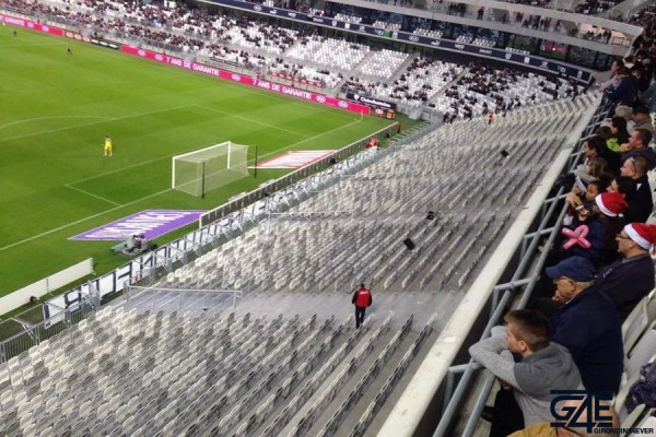Tribune vide Ultras supporters