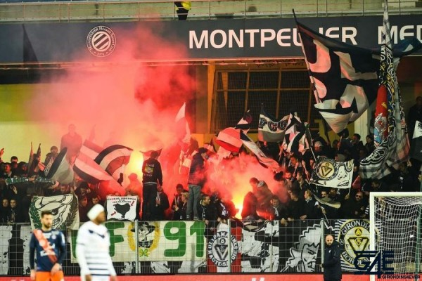 Supporters Ultras Montpellier Iconsport