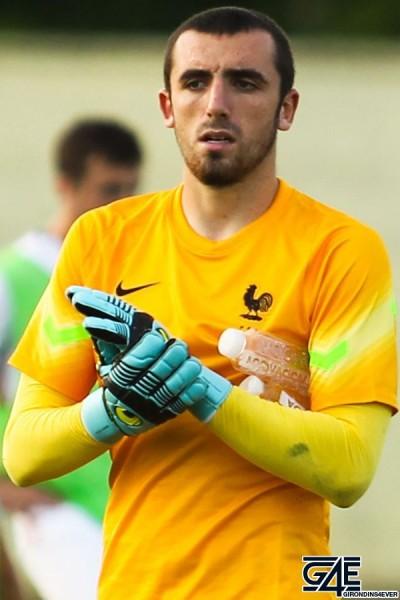 Paul Bernardoni - 04.09.2015 - France / Etats Unis - Tournoi U19 -Serbie Photo : Aleksandar Djorovic / Icon Sport *** Local Caption ***