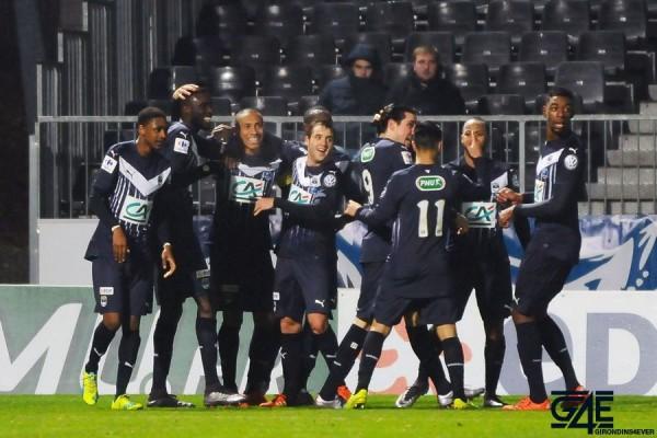 Joie Jussie - 19.01.2016 - Angers / Bordeaux - 16eme de Finalede Coupe de France Photo : Philippe Le Brech / Icon Sport